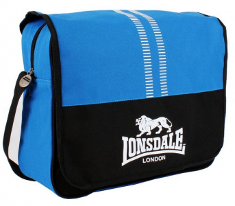 Сумка Lonsdale messenger blue
