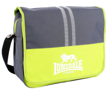 Сумка Lonsdale messenger grey