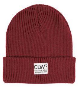 шапка Colour Wear (CLWR) (Швеция) jaque beanie bordo