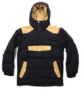 куртка-анорак Colour Wear (CLWR) (Швеция) pufforak black