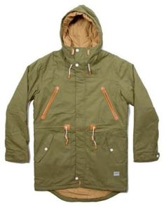 парка Colour Wear (CLWR) urban parka loden