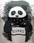 Футболка F5 panda white