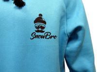 Худи Snowbro travis бирюзовое